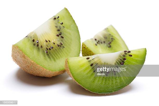 Kiwi Wedge Isolated on White