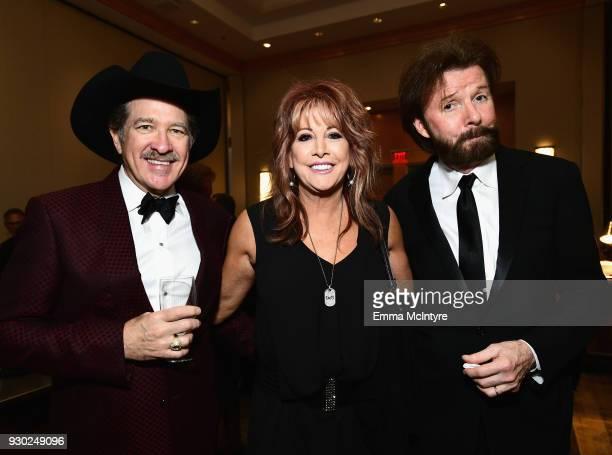 Kix Brooks Nancy Lieberman and Ronnie Dunn attend Celebrity Fight Night XXIV on March 10 2018 in Phoenix Arizona