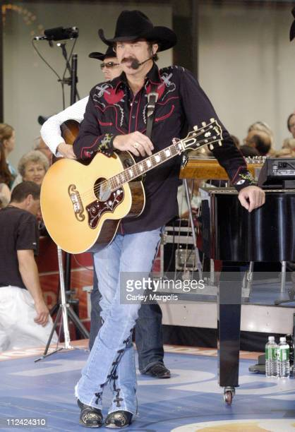 Kix Brooks of Brooks and Dunn during Brooks and Dunn Perform on the 2006 ''Today'' Show Summer Concert Series at Rockefeller Center in New York City...