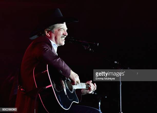 Kix Brooks of Brooks and Dunn performs onstage at Celebrity Fight Night XXIV on March 10 2018 in Phoenix Arizona