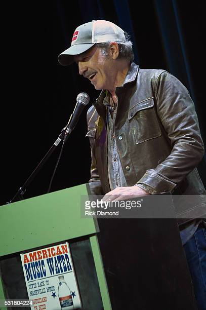 Kix Brooks speaks during TJ Martell Foundation's 2016 Ambassador of the Year Roasting Universal Music Group Nashville Chairman and CEO Mike Dungan at...