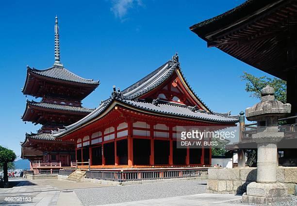Kiyomizudera Temple Kyoto Kansai Japan 9th century