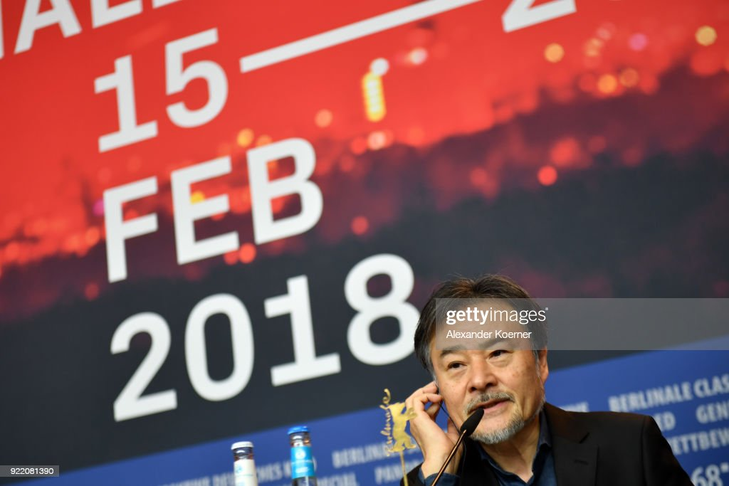 Kiyoshi Kurosawa attends the 'Foreboding' (Yocho) press conference during the 68th Berlinale International Film Festival Berlin at Grand Hyatt Hotel on February 21, 2018 in Berlin, Germany.