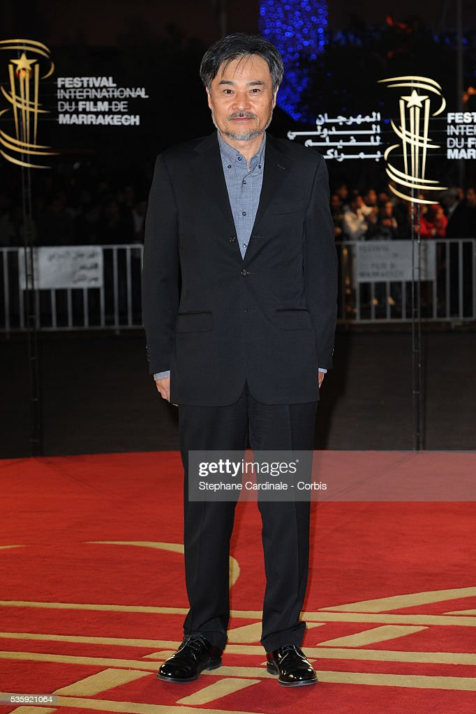Kiyoshi Kurosawa attends the Tribute to Harvey Keitel during the10th Marrakech Film Festival, in Marrakech.