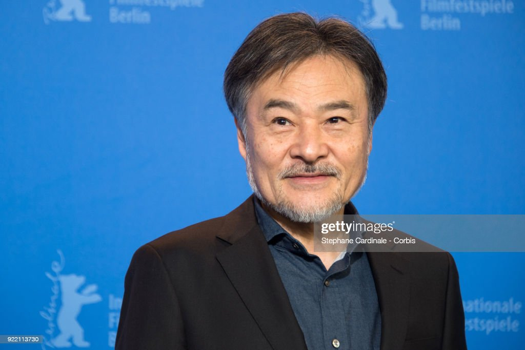 Kiyoshi Kurosawa poses at the 'Foreboding' (Yocho) photo call during the 68th Berlinale International Film Festival Berlin at Grand Hyatt Hotel on February 21, 2018 in Berlin, Germany.