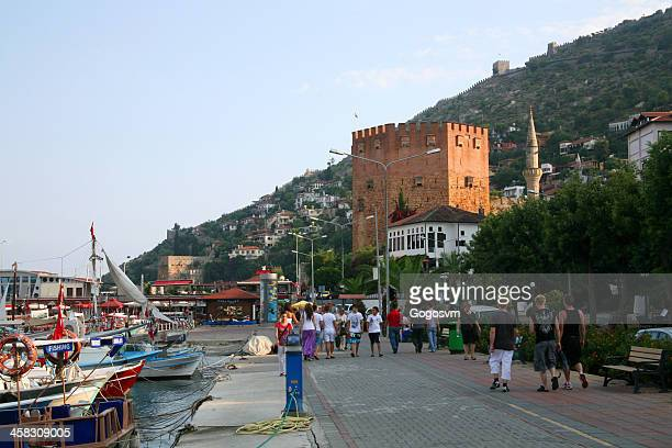 Kizil Kule - Ancient Red Tower in Alanya, Turkey
