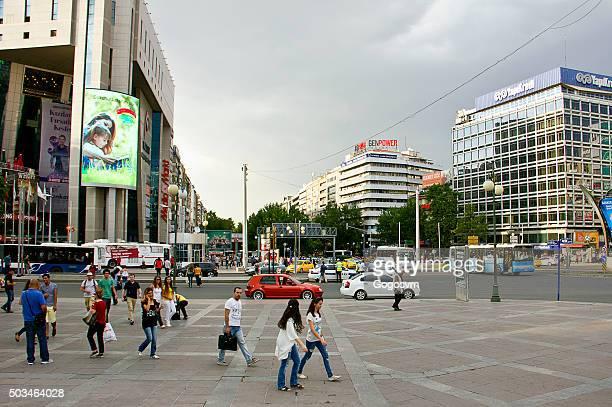 kizilay square, ankara - ankara turkey stock pictures, royalty-free photos & images