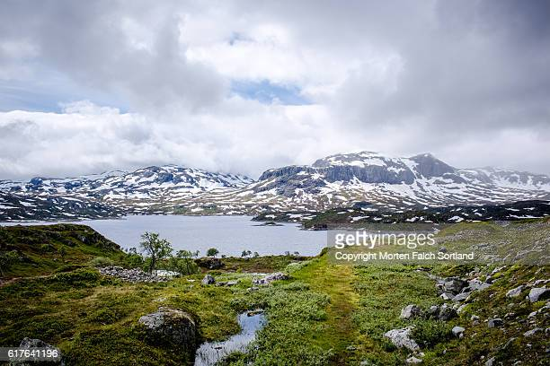 kjelavatn, telemark county, norway - telemark stock pictures, royalty-free photos & images