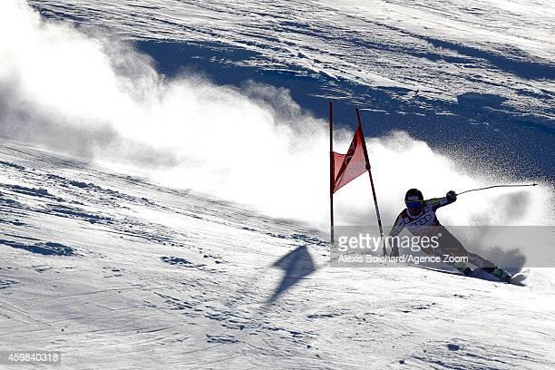 Kjetil Jansrud of Norway competes during the Audi FIS Alpine Ski World Cup Men's Downhill Training on December 02 2014 in Beaver Creek Colorado