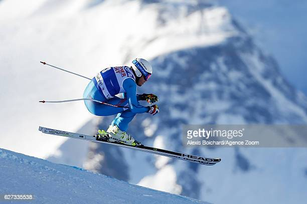 Kjetil Jansrud of Norway competes during the Audi FIS Alpine Ski World Cup Men's Downhill on December 3, 2016 in Val d'Isere, France