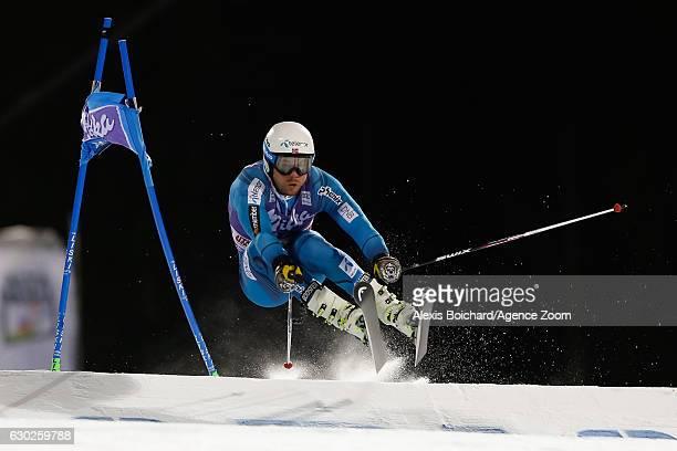 Kjetil Jansrud of Norway competes during the Audi FIS Alpine Ski World Cup Men's Parallel Giant Slalom on December 19 2016 in Alta Badia Italy