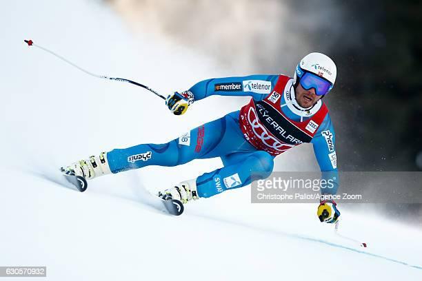 Kjetil Jansrud of Norway competes during the Audi FIS Alpine Ski World Cup Men's Super Giant on December 27, 2016 in Santa Caterina, Italy