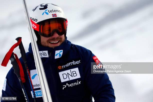 Kjetil Jansrud of Norway during the Audi FIS Alpine Ski World Cup Men's Downhill Training on November 24 2017 in Lake Louise Canada
