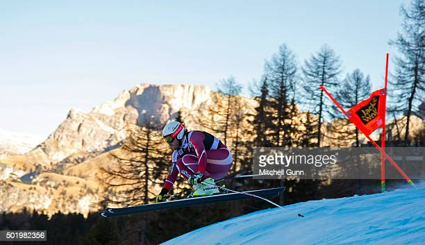 Kjetil Jansrud of Norway during the downhill race at the Audi FIS Alpine Ski World Cup on December 19 2015 in Val Gardena Italy