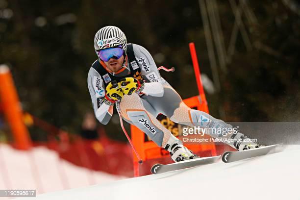 Kjetil Jansrud of Norway in action during the Audi FIS Alpine Ski World Cup Men's Downhill on December 27, 2019 in Bormio Italy.