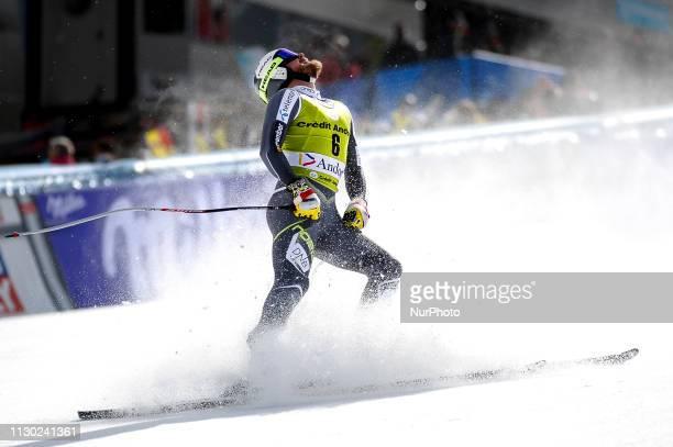 Kjetil Jansrud of Norway Ski Team, during Mens Downhill Audi FIS Ski World Cup Race, on March 13, 2019 in El Tarter, Andorra.
