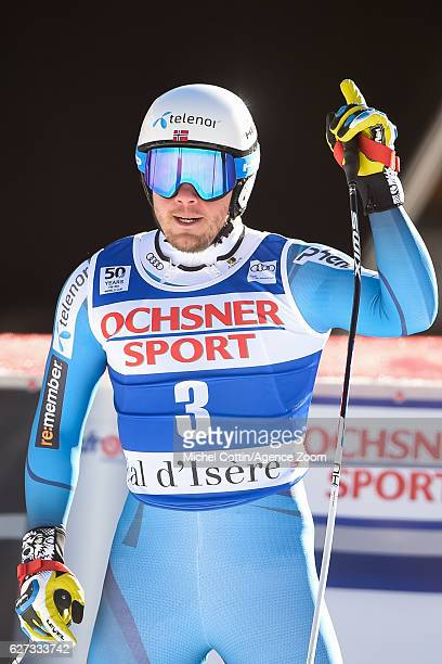 Kjetil Jansrud of Norway takes 1st place during the Audi FIS Alpine Ski World Cup Men's Downhill on December 3, 2016 in Val d'Isere, France