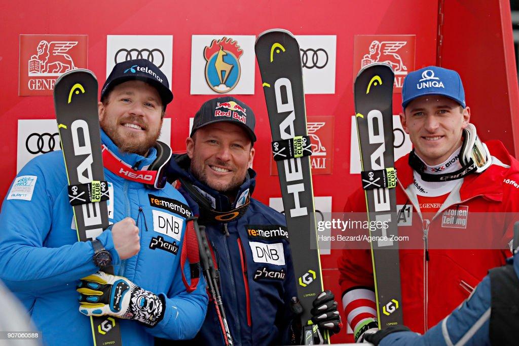 Audi FIS Alpine Ski World Cup - Men's Super G : News Photo
