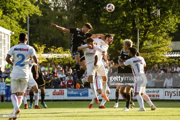 Klaas Jan Huntelaar of Ajax during the Club Friendly match between Ajax v Steaua Bucharest at the Sportpark 't Achterveen on July 7 2018 in Hattem...