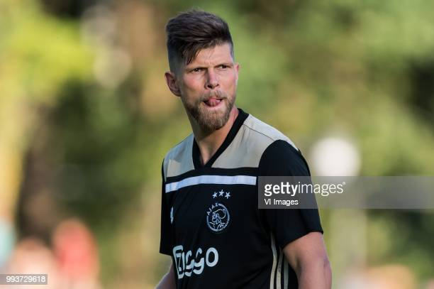 Klaas Jan Huntelaar of Ajax during the friendly match between Ajax Amsterdam and Steaua Bucharest on July 7 2018 at Sportpark Achterveen in Hattem...