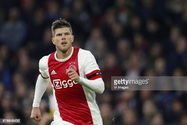 Klaas Jan Huntelaar of Ajax during the international friendly match between Ajax Amsterdam and Borussia Mönchengladbach at the Amsterdam Arena on...
