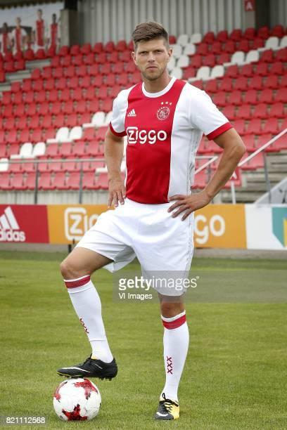 KlaasJan Huntelaar during the team presentation of Ajax on July 22 2017 at the at the Toekomst in Amsterdam The Netherlands