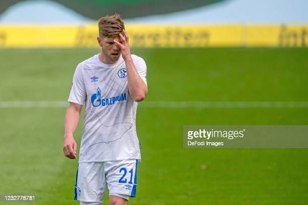Klaas-Jan Huntelaar of FC Schalke 04 ,gestures,looks dejected during the Bundesliga match between TSG Hoffenheim and FC Schalke 04 at PreZero-Arena...