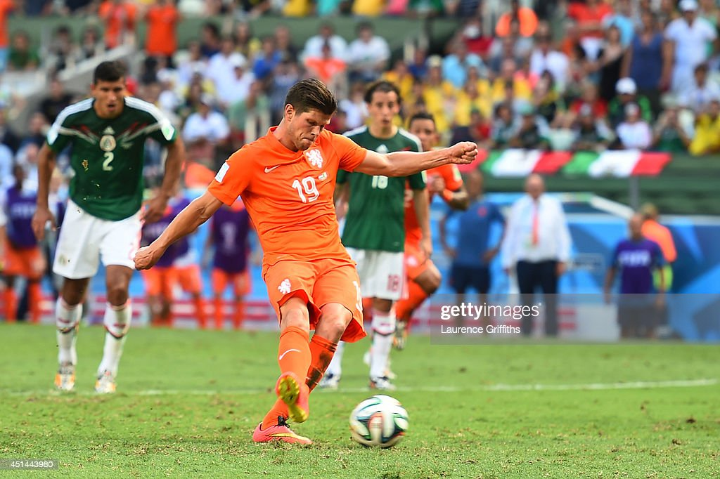 Netherlands v Mexico: Round of 16 - 2014 FIFA World Cup Brazil : News Photo