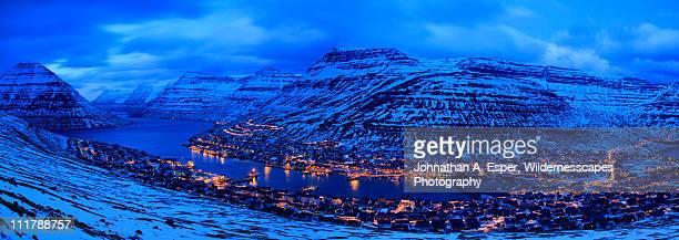 Klaksvík, island of Borðoy, Faroe Islands