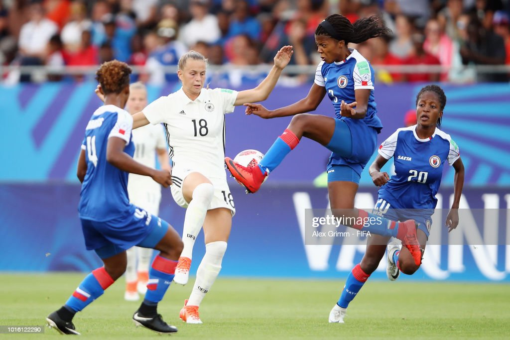 Germany v Haiti: Group D - FIFA U-20 Women's  World Cup France 2018