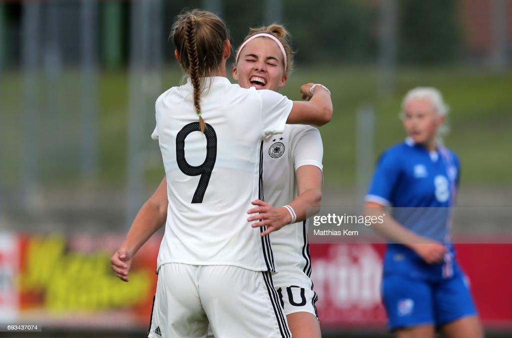 Germany v Iceland - U19 Women's Elite Round : Nyhetsfoto