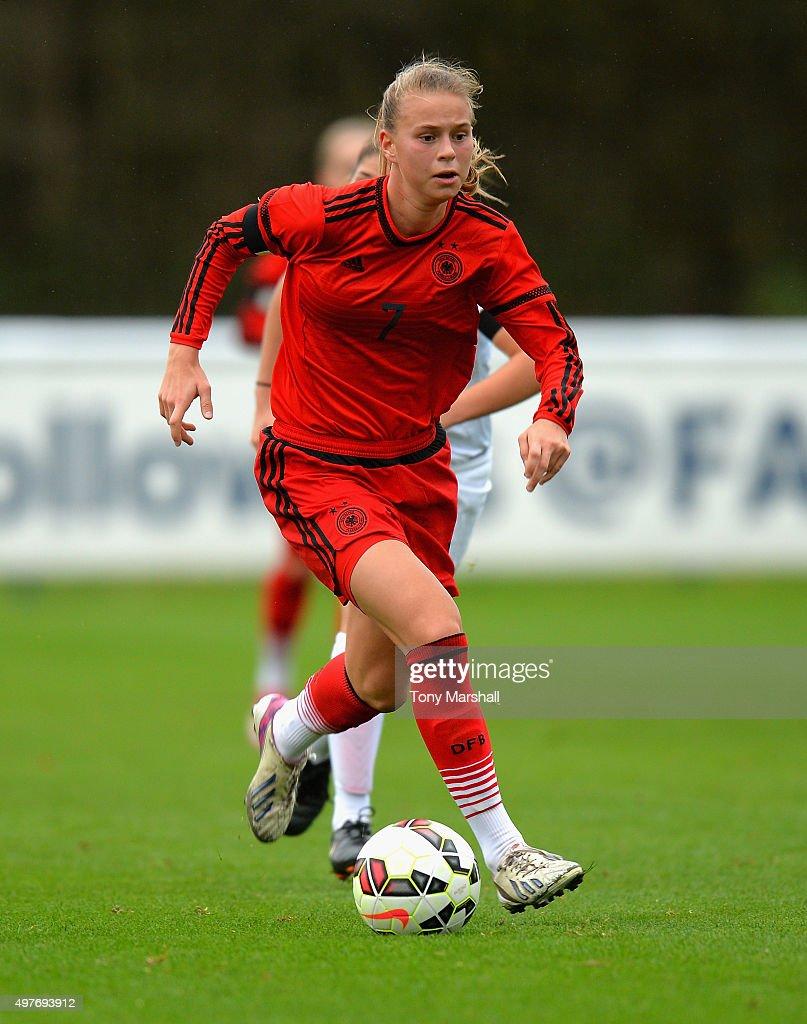 England U16 v Germany U16 - Women's U16s International Friendly : News Photo