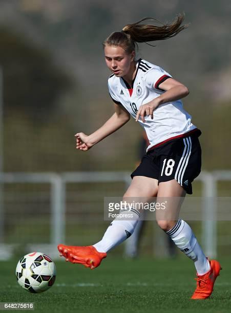 Klara Buhl of Germany in action during the international friendly match between Germany Women U19 and USA Women U19 at La Manga Club on March 5 2017...