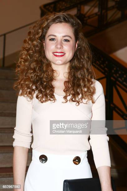 Klara Deutschmann attends the 'Charite' premiere at LangenbeckVirchowHaus on March 13 2017 in Berlin Germany