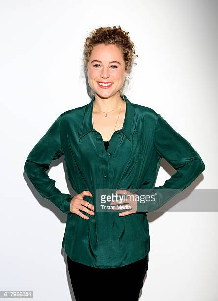 Klara Deutschmann attends the 'Sechs auf einen Streich' photo call on October 25 2016 in Hamburg Germany