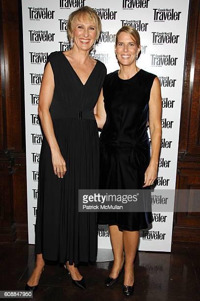 Klara Glowczewska and Elizabeth H. Hughes attend CONDE NAST TRAVELER Readers' Choice Awards & 20TH Anniversary Party at Cooper-Hewitt National Design...