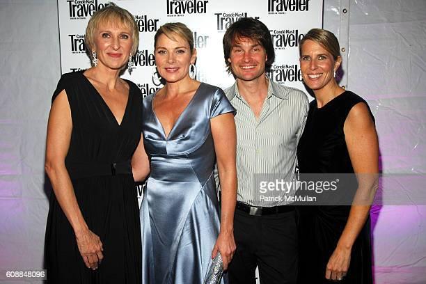 Klara Glowczewska , Kim Cattrall, Greg Corradetti and Elizabeth H. Hughes attend CONDE NAST TRAVELER Readers' Choice Awards & 20TH Anniversary Party...
