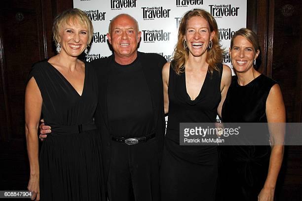 Klara Glowczewska , Robert Yates, Nanette Bercu and Elizabeth H. Hughes attend CONDE NAST TRAVELER Readers' Choice Awards & 20TH Anniversary Party at...
