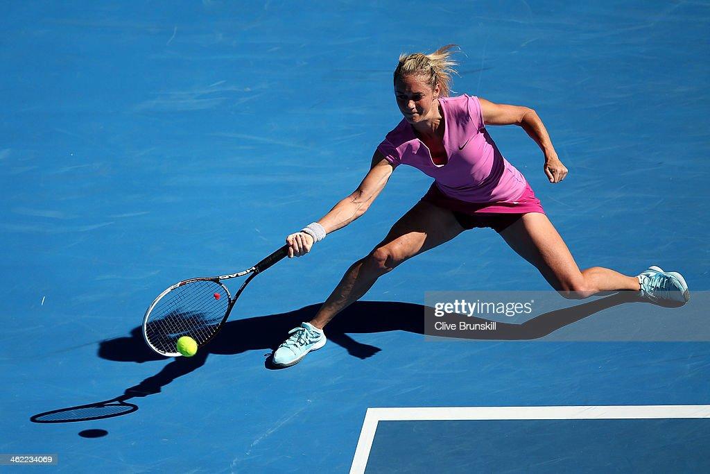 2014 Australian Open - Day 1 : News Photo
