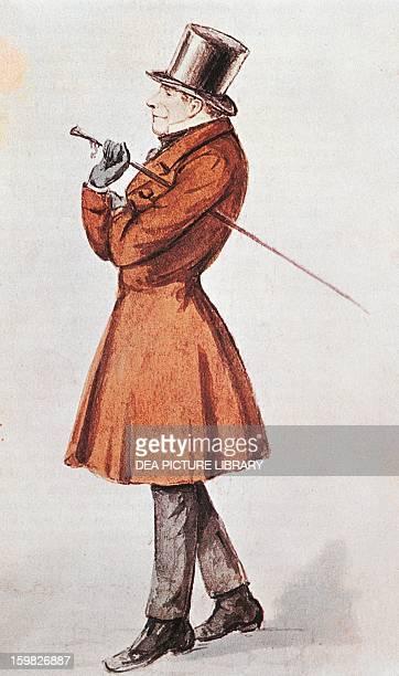 Klastrup Soren Aabye Kierkegaard , Danish philosopher and theologian. Watercolour, 1840. Copenhagen, Royal Library