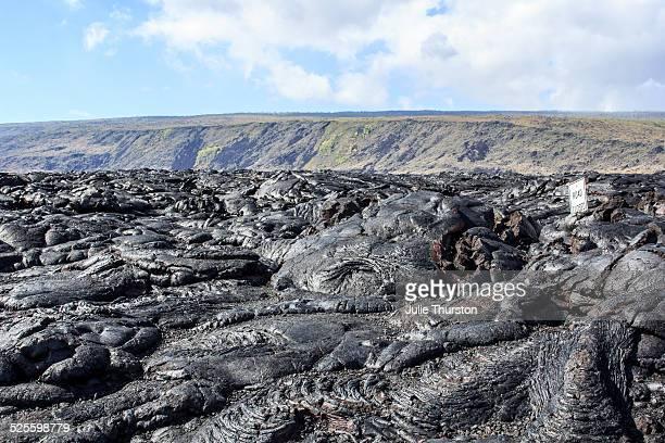 k?lauea lava flow - パホア ストックフォトと画像