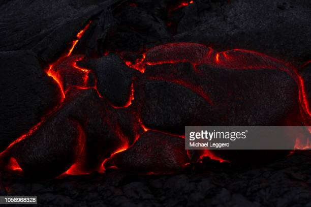 klauea volcano - lava stock pictures, royalty-free photos & images