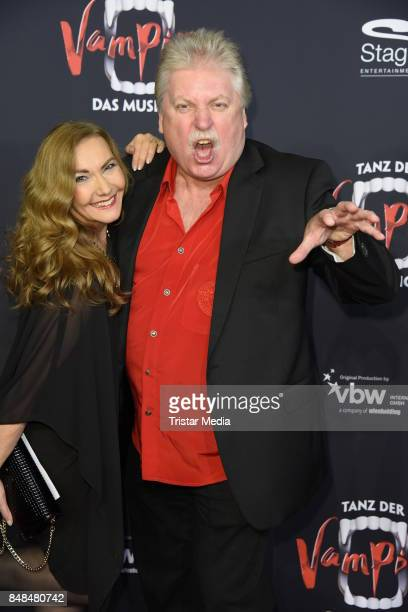 Klaus Baumgart and his wife Ilona Baumgart attend the 'Tanz der Vampire' Musical Premiere at Stage Theater on September 17 2017 in Hamburg Germany