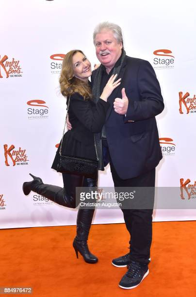 Klaus Baumgart and Ilona Baumgart attend Kinky Boots Premiere at Stage Operettenhaus on December 3 2017 in Hamburg Germany