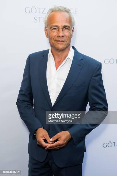 Klaus Behrendt attends the Goetz George Award at Astor Film Lounge on July 23, 2018 in Berlin, Germany.