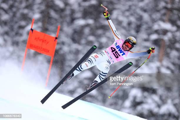 Klaus Brandner of Germany skis during the Audi FIS Alpine Ski World Cup Men's Downhill on on November 30 2018 in Beaver Creek Colorado