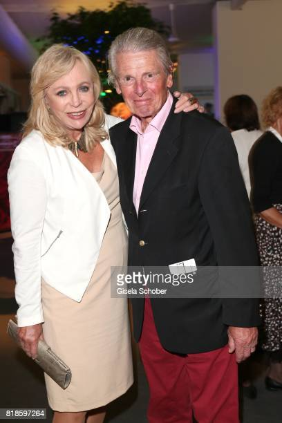 Klaus Bresser and his wife Evelyn during the media night of the CHIO 2017 on July 18, 2017 in Aachen, Germany.