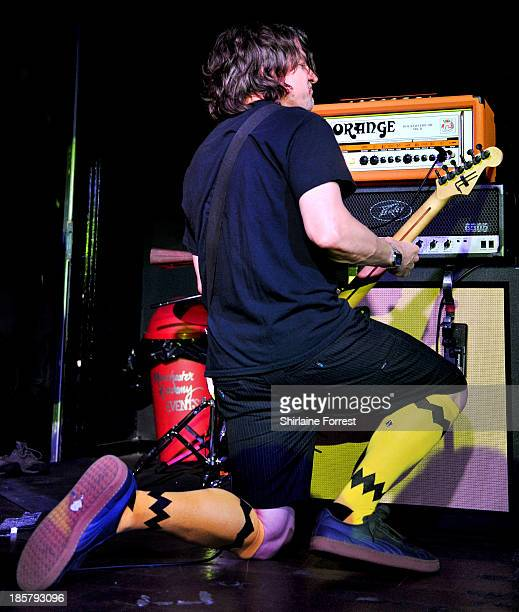 Klaus Eichstadt of Ugly Kid Joe performs at Manchester Academy on October 24 2013 in Manchester England