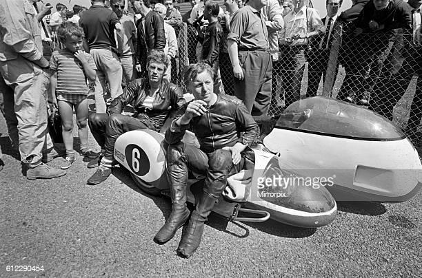 Klaus Enders celebrates after victory June 1969 Z12573004