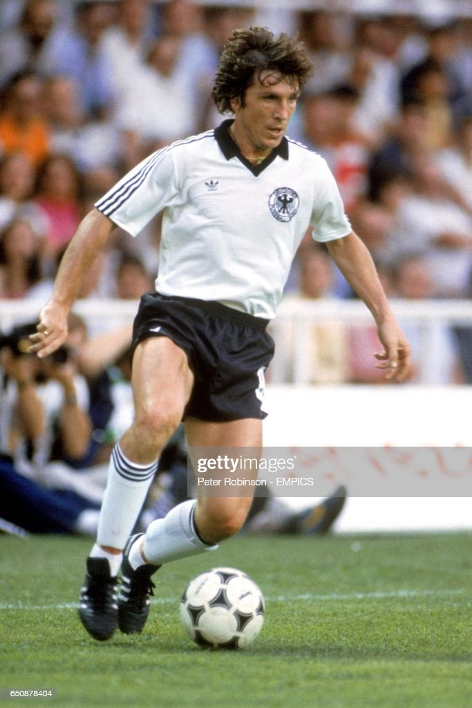Soccer - World Cup Spain 82 - Semi Final - West Germany v France : News Photo